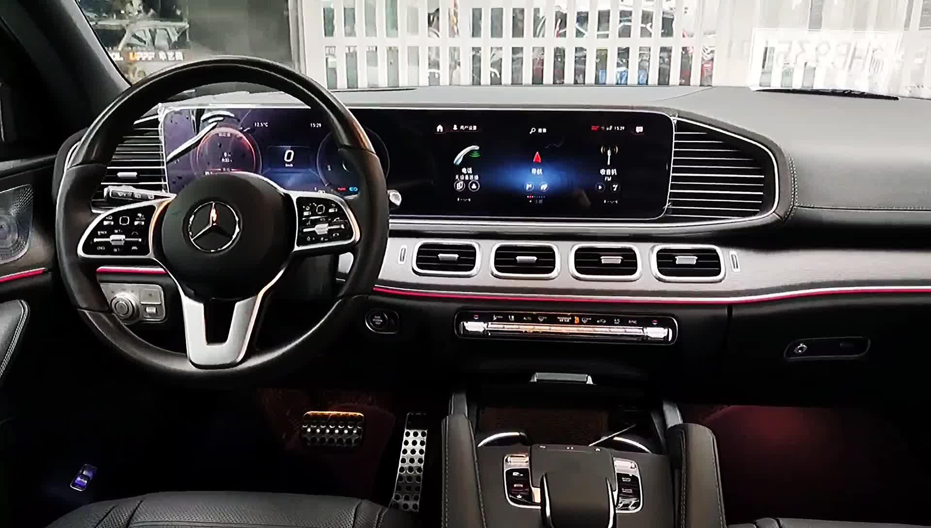 奔驰GLS450隐形车衣视频